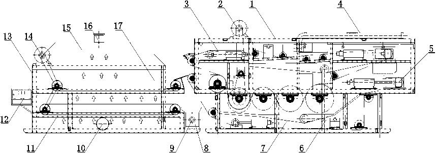 污泥干化带式压滤机技术与组成