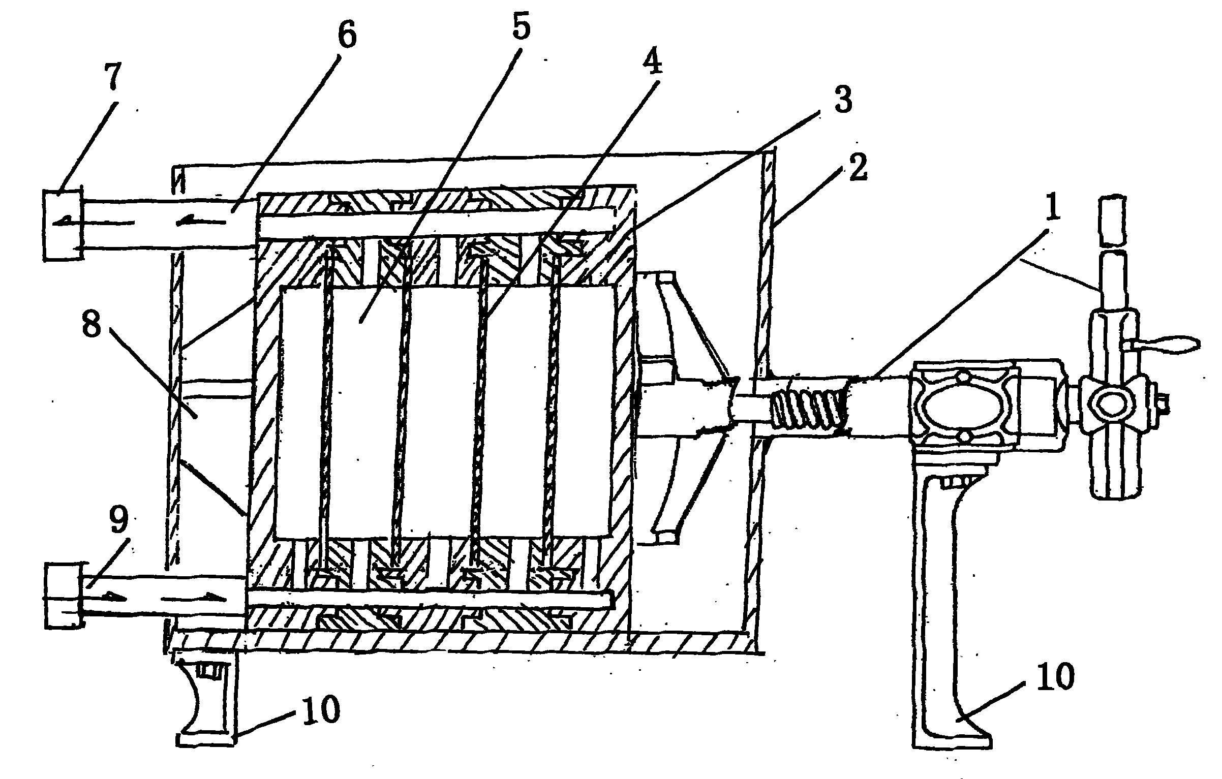 框架式污水污泥压滤机技术