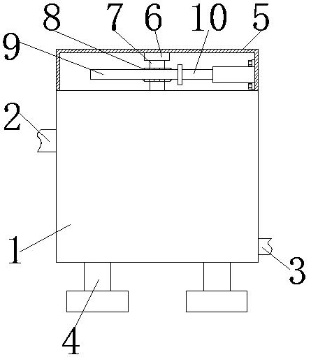纸浆废水处理用搅拌技术