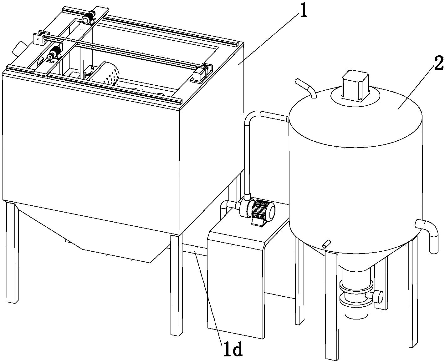 造纸污水处理设备的作业方法