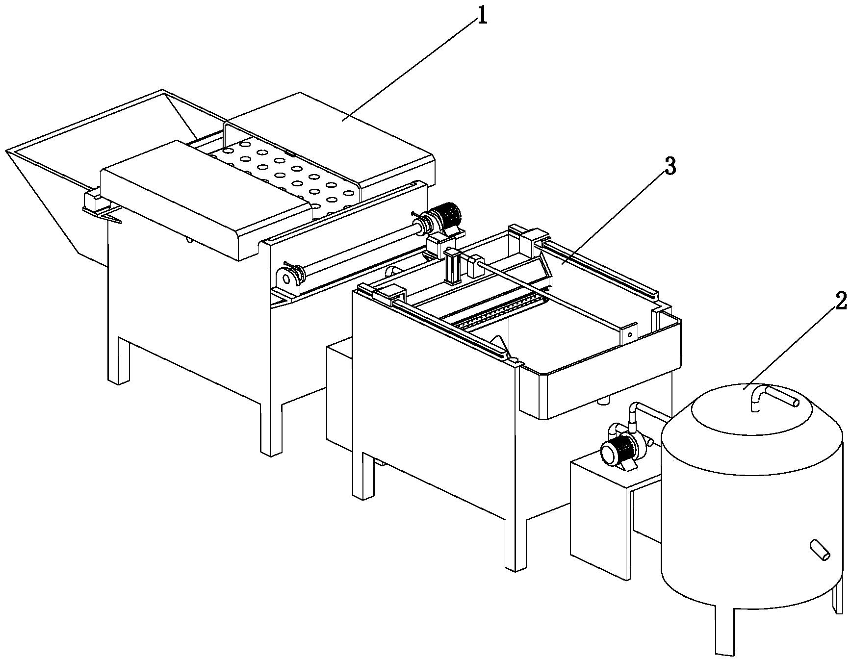 饲养污水处理设备的作业方法