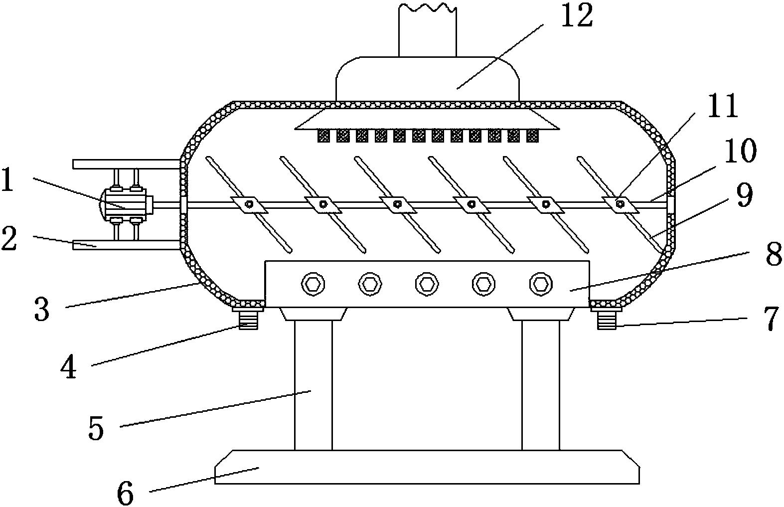 制浆造纸的废水热能回流设备