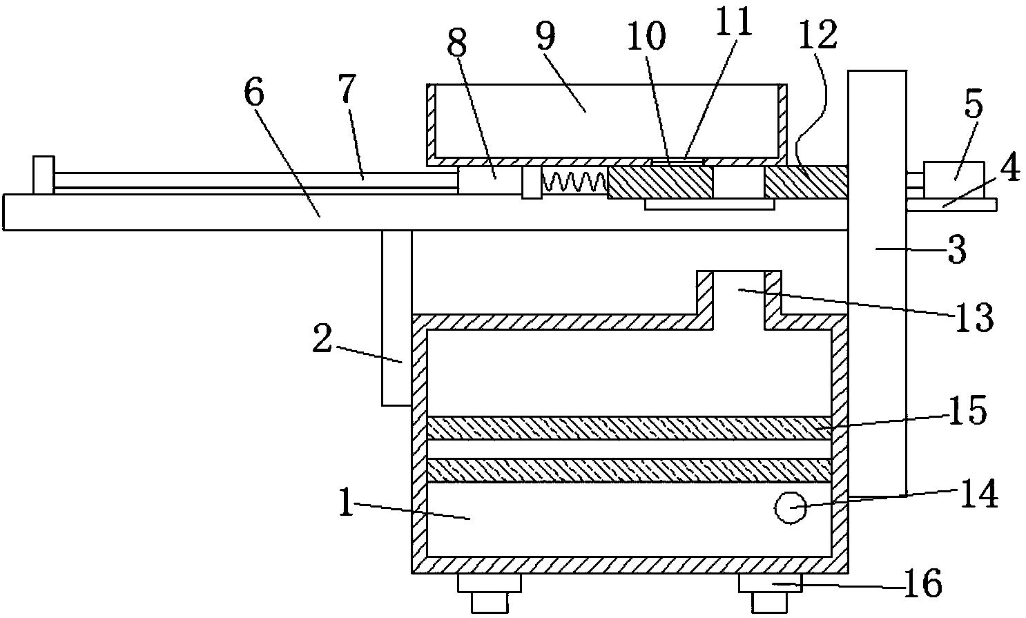 压滤机滤水收集系统技术方案
