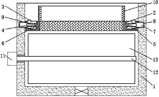 用于处理养殖废水的水解酸化装置